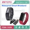 Perseguidor elegante de la pulsera de la actividad de Bluetooth 4.0 de la alta calidad