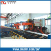 Profile de alumínio Extrusion Machine 1800t Double Puller com Two Flying Saw
