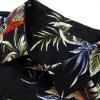 Het katoen Afgedrukte Overhemd van de Slijtage van het Strand Mens