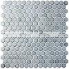 плитка мозаики бассеина 19mm шестиугольная наградная застекленная керамическая (BCZ705)
