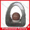 Fontaine en pierre normale de boules de paysage en pierre normal de boules/de boules granit de jardin