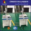 Машина маркировки лазера листа нержавеющей стали охлаждения на воздухе оптически