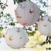 Boda Decoración china hecha a mano cubierta colgante linternas de papel para la boda
