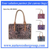 Form-Dame Canvas Handbag mit Leopard-Drucken (HB-004)