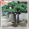 Árvore de pinho artificial da fibra de vidro ao ar livre da decoração
