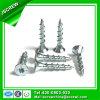 Zinc Torx à tête plate clair Plaqué Drywall Vis avec Logo