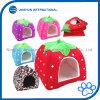 유일한 귀여운 딸기 모양 애완 동물 집고양이 개 강아지 침대