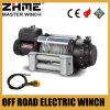 guincho elétrico resistente de 16000lbs 12V com a caixa de controle impermeável