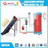 Installeer de Gespleten VacuümVerwarmer van het Water van de Buis Zonne