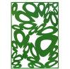 Panneau en aluminium perforé pour des systèmes de revêtement de façade de mur