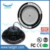 Lámpara ligera industrial de la bahía del UFO de la UL 240W LED alta con el disipador de calor grande