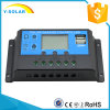 regulador inteligente solar de 24V/12V 40A para el sistema casero solar con USB dual Cm20k-40A del LCD