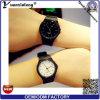 Vigilanze su ordinazione casuali di marchio di disegno semplice dell'orologio degli uomini di sport del quarzo della vigilanza di signore di moda di modo Yxl-193