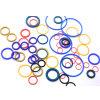 Farbiger Gummio-ring, O-Ring mit der FDA bescheinigt