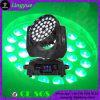 36X18W LEDの移動ヘッド洗浄ズームレンズ6in1