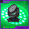 36X18W móvil LED 6en1 de la colada zoom
