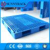 Pálete do HDPE do uso do racking da pálete do armazenamento do armazém da carga 1200*800 pesada