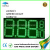 24  segni del commutatore di prezzi di gas del LED (NL-TT61SF-3R-4D-GREEN)