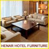 アメリカ現代様式のセットされる灰色の居間のソファーかホテルの部門別のソファー