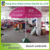 Parasol de playa recto impermeable modificado para requisitos particulares de la impresión para los acontecimientos del partido