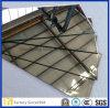3-8mm Stärken-Arten des dekorativen unregelmäßig geformten Aluminiumspiegels