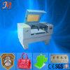 Máquina de estaca tecida do laser da correção de programa da etiqueta (JM-640H)