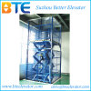 Plataforma de trabalho de elevador de carga de tesoura hidráulica