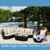 Мебель софы напольной комбинации патио сада Wicker