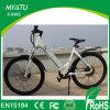 bicicleta com regulador de pressão do polegar, bicicleta elétrica da cidade da movimentação de correia 700c E da câmara de ar de 36V/11ah Doubble