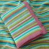 Couverture molle de bébé tricotée par coton 100%