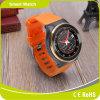 3Gは5.1匹のアンドロイドシステムWiFi Bluetooth歩数計の心拍数GPSのスマートな腕時計によって来る