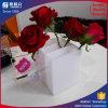 Wasserdichter weißer Rosen-Verpackungs-Kasten blüht Halter