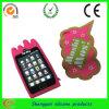 Caja del teléfono móvil del silicón de la manera