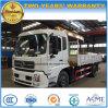 Dongfeng 4X2 6 바퀴 트럭은 판매를 위한 5t XCMG 기중기로 거치했다