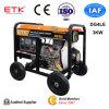groupe électrogène diesel de sûreté de l'exécution 3kw