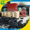 Double défibreur d'arbre pour la vieux mitraille/mousse/plastique/bois/sofa industriels de pneu