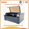 Machine de découpage de gravure de laser de tissu de plaque de crabot d'étiquette nommée d'acier inoxydable