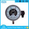 150mmの安い価格のステンレス鋼の電気接触の圧力計