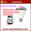무선 Bluetooth 스피커 RGB 색깔 지능적인 LED 전구 램프