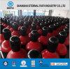 De acero sin costura de alta presión del cilindro de gas (ISO9809 219-40-150)