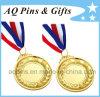 Medaglia di oro su ordinazione con 3c Ribbon