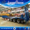 60 ton 13m de Lage Semi Aanhangwagen van het Bed voor het Graafwerktuig en de Container van het Vervoer