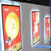 Trames acryliques de la boîte de présentation de signe de cadre d'éclairage LED de Frameless DEL