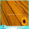 Bernsteinfarbiger Innen-Klicken Korn-Strang gesponnener schwerer Bambusbodenbelag System