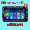 Carro DVD com GPS Navigator Car Audio/Car Monitor para VW Touran Polo Golf 5 Glof 6 Baro Passat B6 Tiguan de Volkswagen (IY8095)