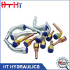 Embout de durites hydraulique de couplage rapide de l'acier inoxydable Jic/Bsp/JIS/Orfs/NPT/Metric de prix usine