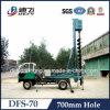 Taladro hidráulico Dfs-70 que perfora Machine
