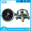 indicateur de pression rempli d'huile d'acier inoxydable de 40mm avec la bride