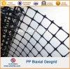 Construção Rodoviária PP Geogrid Biaxial 30knx30kn