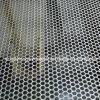 Galvanizzato intorno alla maglia perforata del metallo del foro